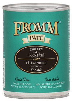 Grain-Free Chicken & Duck Pate for Dogs 12oz Can