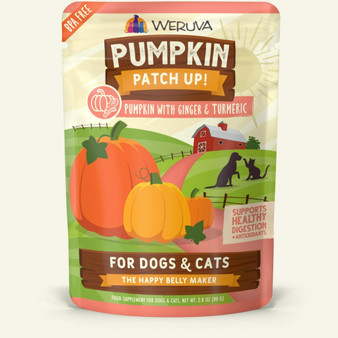 Weruva Pumpkin with Ginger & Turmeric Pumpkin Supplement (2.8 oz Pouch)