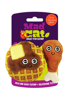 MAD CAT CHICKEN & WAFFLES 2 PK