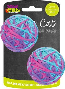 MAD CAT SOFT YARNBALL 2 PK