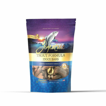 Zignature Trout Formula Biscuit Treats for Dogs