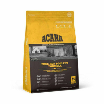 DS ACANA Dog Free-Run Poultry Recipe Front Right 4.5lbs