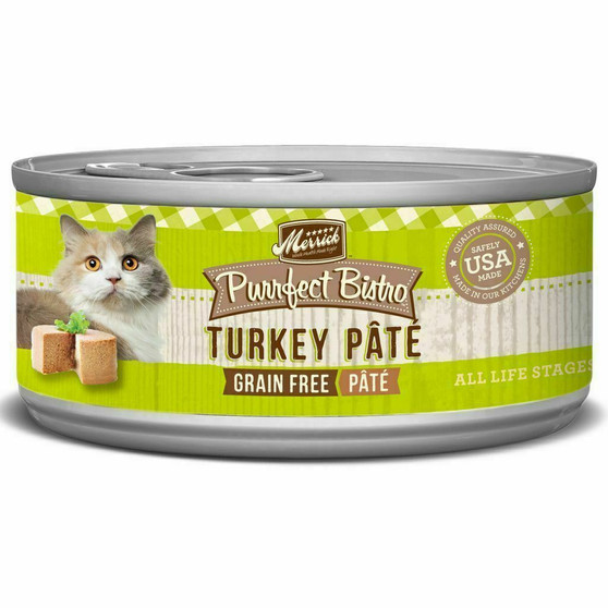 Merrick Purrfect Bistro Pate Wet Cat Turkey