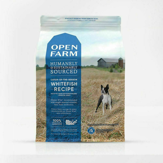 Open Farm Catch-of-the-Season Dry Dog Food packaging