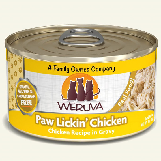 Weruva - Paw Lickin' Chicken - Can Wet Food For Cats