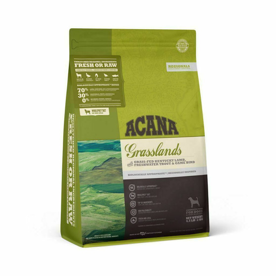 DS ACANA Regionals Dog Grasslands Front Right 4.5lbs