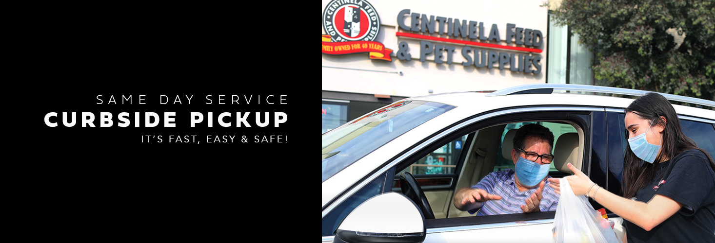 When you order online. It's fast, easy & safe ! Curbside pickup