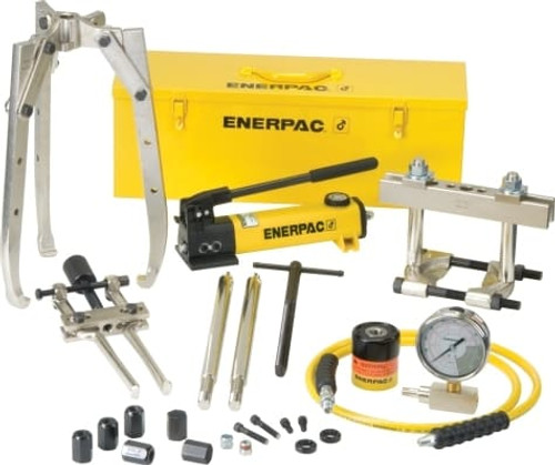 BHP-1752 8 Ton Enerpac Hydraulic Puller Master Set