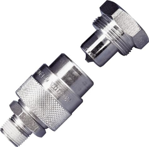"C-604 3/8"" Hi-Flow Coupler"