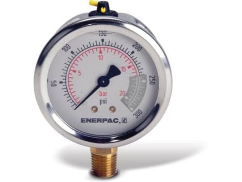 "G2512L Enerpac Gauge, 2-1/2"" 0-300 PSI"