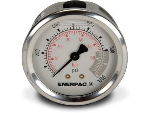 """G2531R Enerpac Gauge, 2-1/2"""" 0-1000 PSI"""