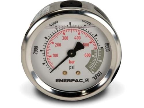 """G2537R Enerpac Gauge, 2-1/2"""" 0-10,000 PSI"""