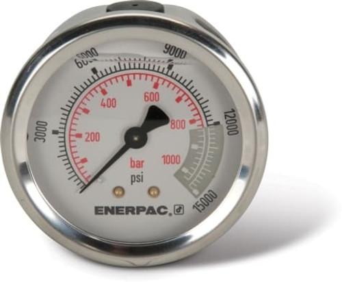 """G2538R Enerpac Gauge, 2-1/2"""" 0-15,000 PSI"""