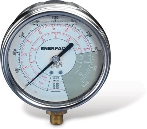 GF871P (GF-871P) Enerpac Hydraulic Pressure Gauge