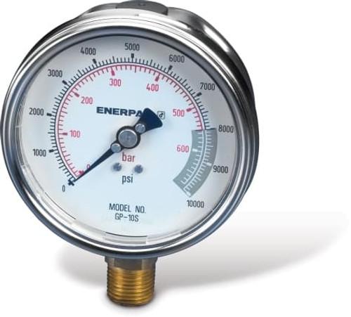 GP10S (GP-10S) Enerpac Hydraulic Pressure Gauge