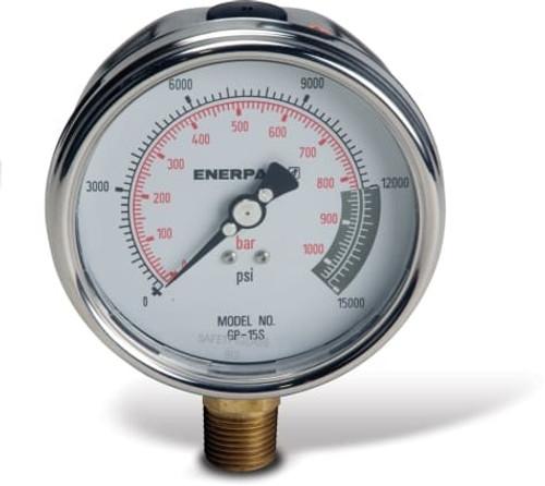 GP15S (GP-15S) Enerpac Hydraulic Pressure Gauge