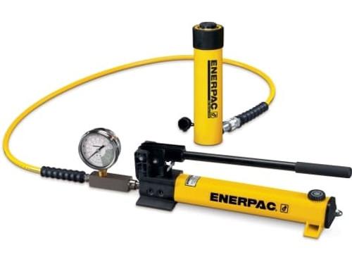 SCR-1010H 10 Ton Enerpac Cylinder Pump Set