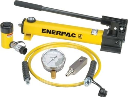 SCR106H (SCR-106H) 10 Ton Enerpac Hydraulic Cylinder Pump Set