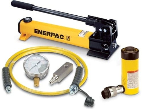 SCR-154H 15 Ton Enerpac Cylinder Pump Set