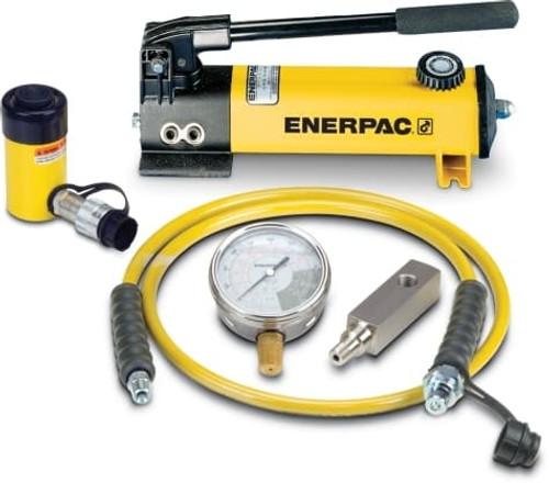 SCR-55H 5 Ton Enerpac Cylinder Pump Set