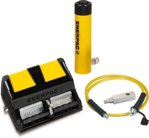 SCR102XA (SCR-102XA) Enerpac Cylinder Pump Kit: RC102 Cylinder w/ XA11 Enerpac Air Pump