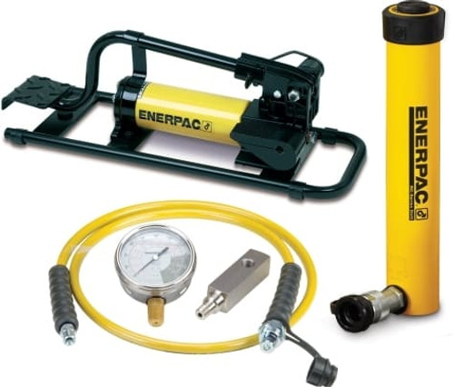 SCR-1010FP 10 Ton Enerpac Cylinder Pump Set