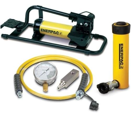 SCR-106FP 10 Ton Enerpac Cylinder Pump Set