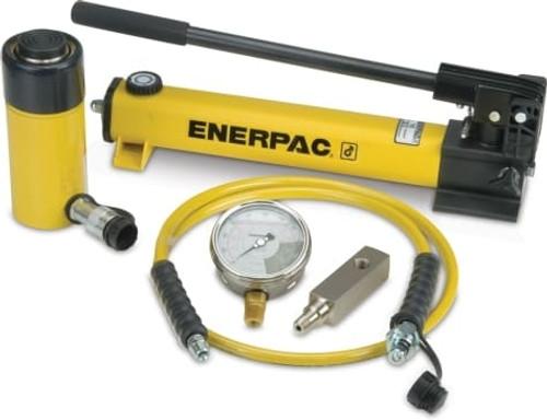 SCR-506H 50 Ton Enerpac Cylinder Pump Set