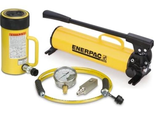 SCR-2514H 25 Ton Enerpac Cylinder Pump Set