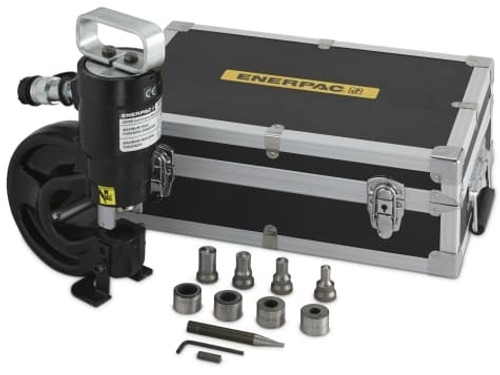 SP-35S 35 Ton Enerpac Punch w/ 4 Punch & Die Sets