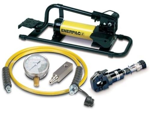 STC-750FP WHC750 Hydraulic Cutter, w/ P-392FP Foot Pump