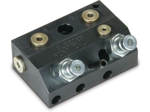 MCR-21 2-Passage w/o Check Manual Coupler Receiver