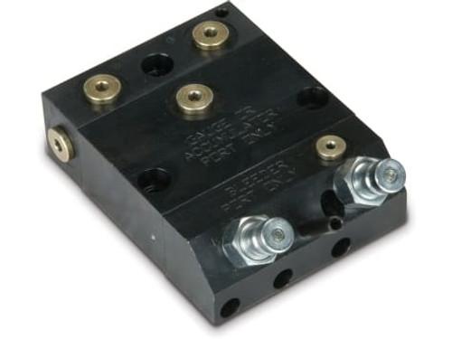 MCRC-21 2 Passage Manual Coupler Receiver w/ P.O. Check