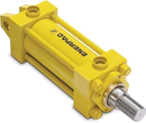"""TRCM-2502C Rod Cylinder, 2 1/2"""" Bore x 2"""" Stroke, w/ Cushions"""