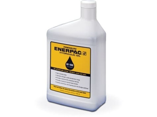 1ea. Quart HF-100 Enerpac Hydraulic Oil