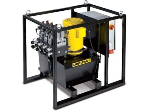 SFP404MJ Pump, Elec. Split Flow, 4 Outlet Manual 40L 460V