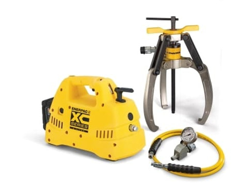 Puller, Lock Grip Hyd Set, 3J, 14T, Cdls Pump, 230V