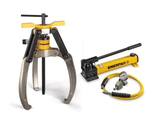 Puller, Lock Grip Hyd Set, 3J, 24T, Hand Pump