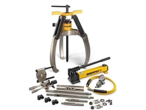 Puller, Lock Grip Hyd M Set, 3J, 24T, Hand Pump
