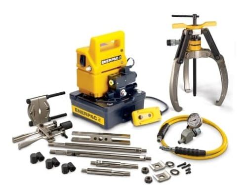 Puller, Lock Grip, Hyd M Set, 3J, 10T, E Pump, 115V