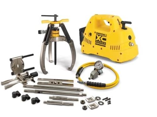 Puller, Lock Grip, Hyd M Set, 3J, 10T, Cdls Pump, 115V