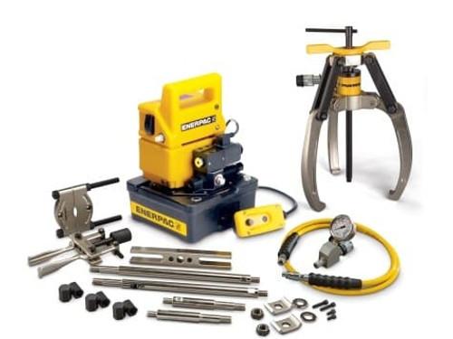 Puller, Lock Grip Hyd M Set, 3J, 14T, E Pump, 230V