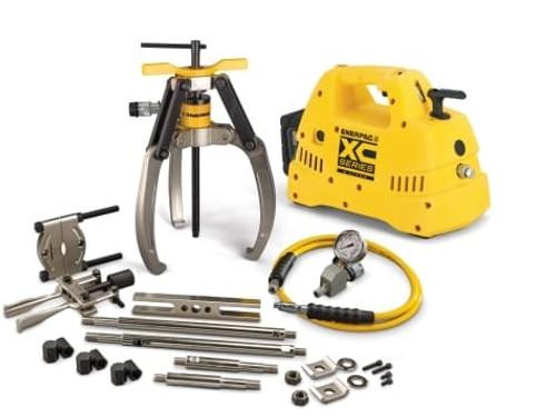 Puller, Lock Grip Hyd M Set, 3J, 14T, Cdls Pump, 115V