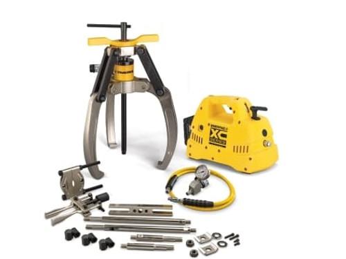 Puller, Lock Grip Hyd M Set, 3J, 24T, Cdls Pump, 230V