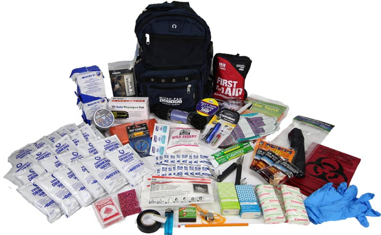 Executive Upgrade 2 Person  72 Hour Survival Kit