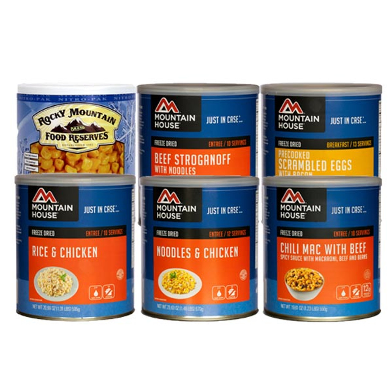 Mountain House® Food Starter Pak