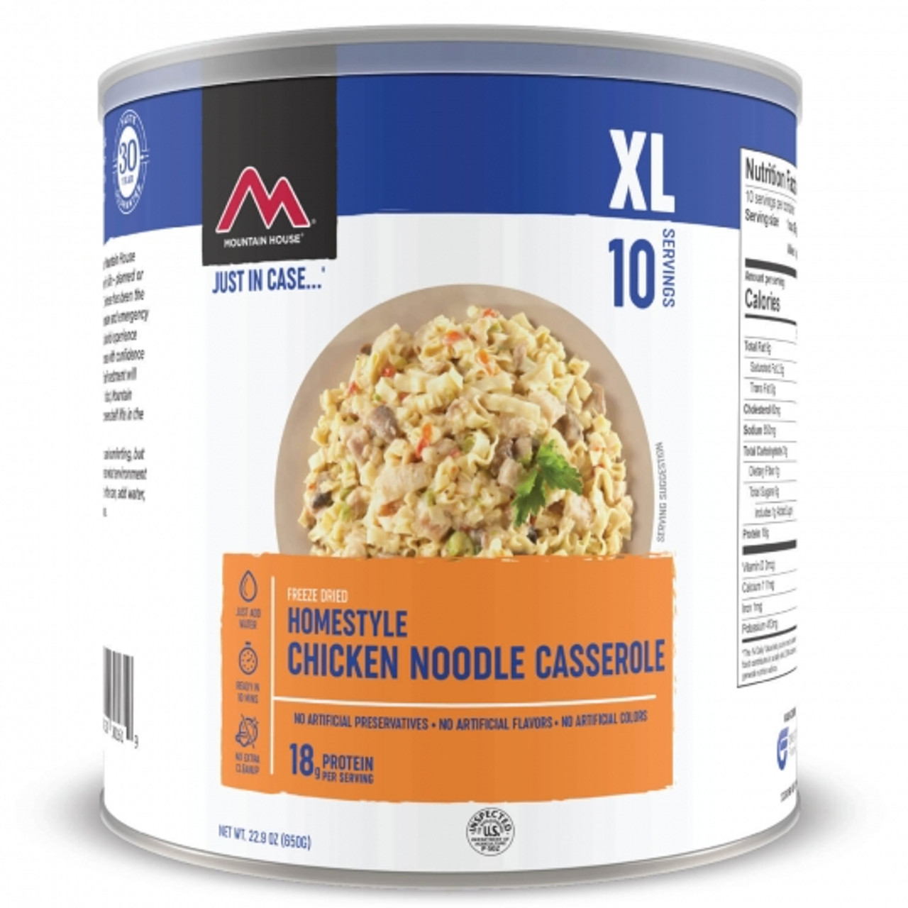 Mountain House Chicken Noodle Casserole#10 Can