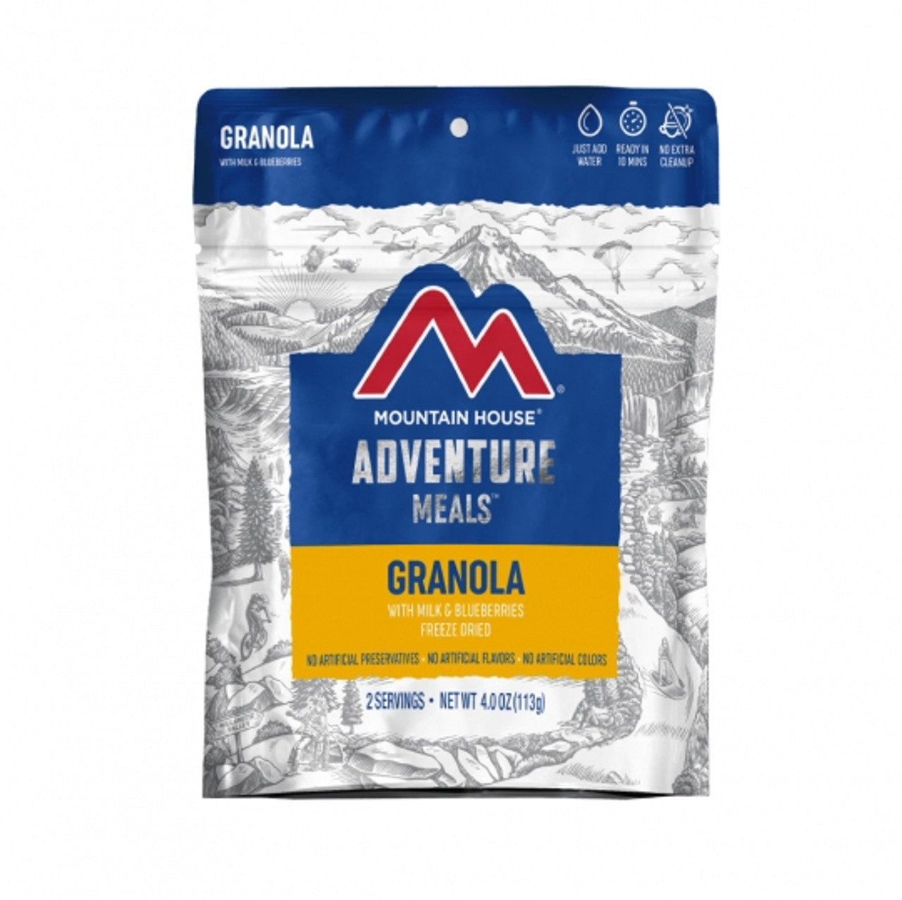 Mountain House Granola with Blueberries Pouch