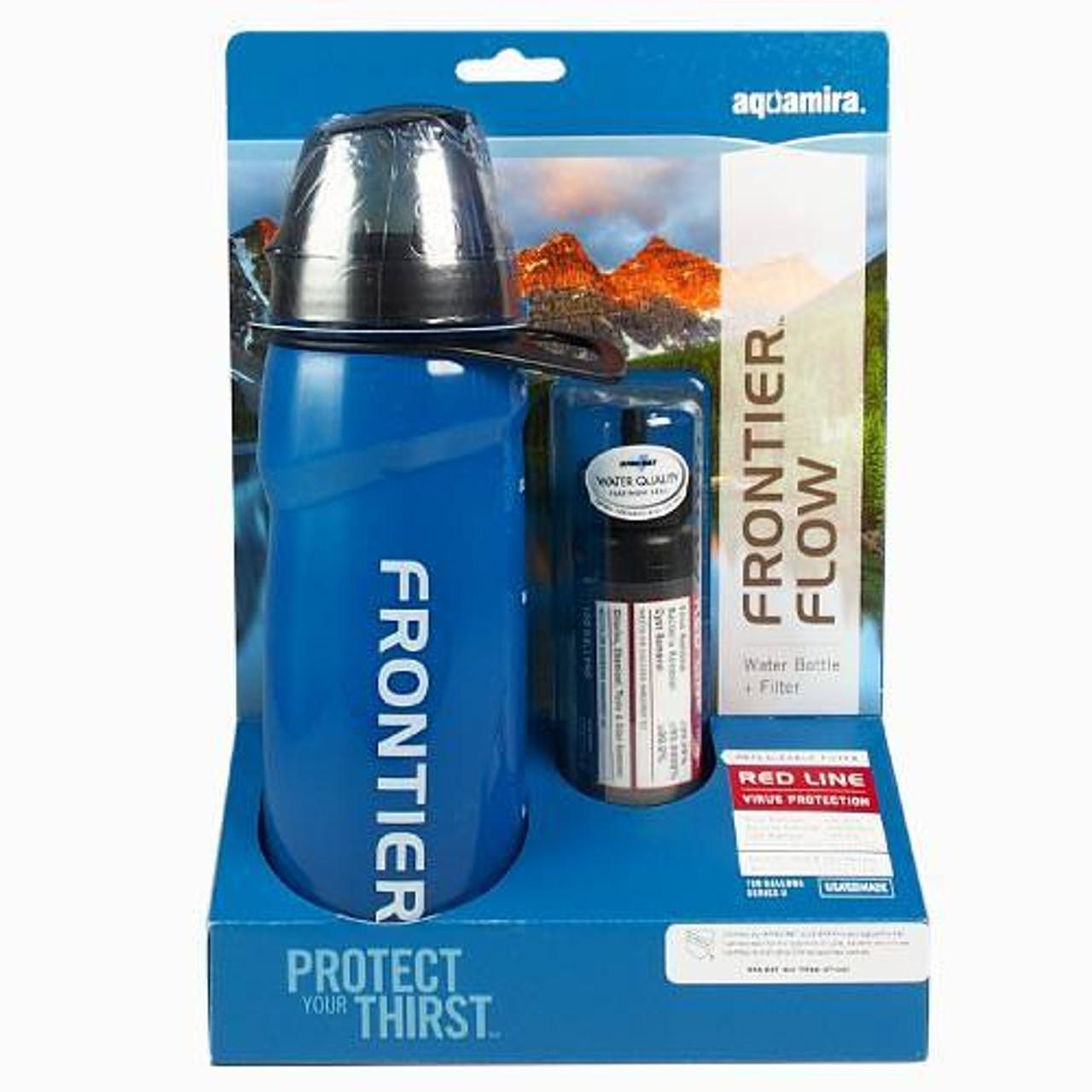 Frontier™ Flow Water Bottle Filter - Red Line
