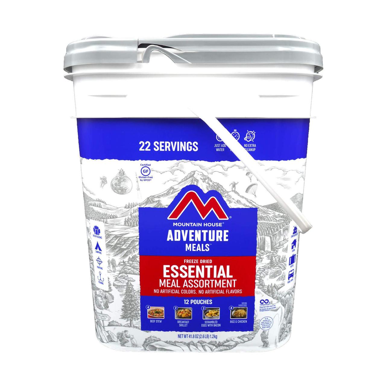Mountain House Essential Assortment Bucket - GLUTEN FREE